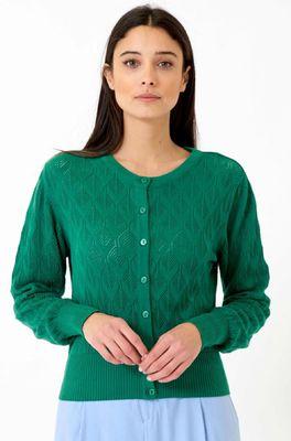 Vacant vest bud groen