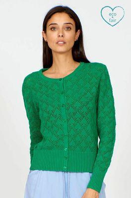 Vacant vest lotus leaf groen