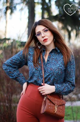 Very Cherry bloes jane blouse  multicolor