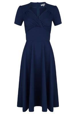Very Cherry jurk blauw holywood