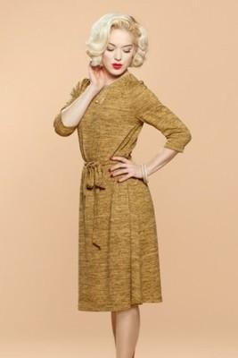 Very Cherry jurk geel new york