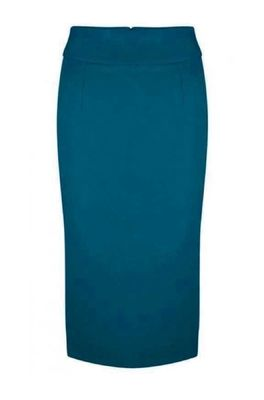 Very Cherry rok pencil skirt petrol