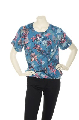 Vila Joy top Tropi blauw
