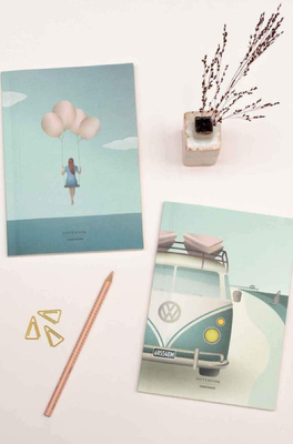 Vissevasse notitieboek camper + balloon dream