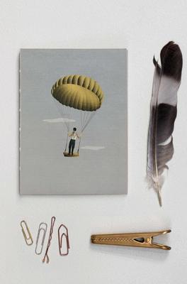 Vissevasse notitieboek man in sky