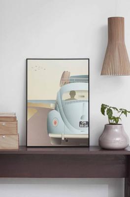 Vissevasse poster VW beetle
