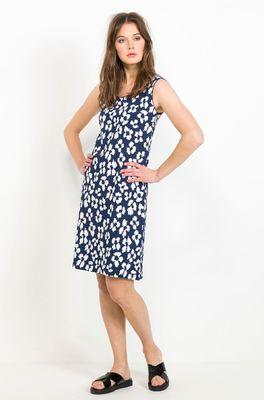 Wax jurk bilou ome well blauw