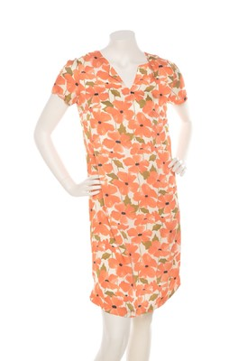 Wax jurk nador oranje