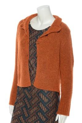 Wax vest eezy oranje