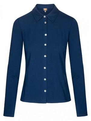 Who's That Girl shirt steen blauw