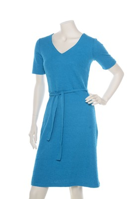 Wow To Go jurk blauw dig