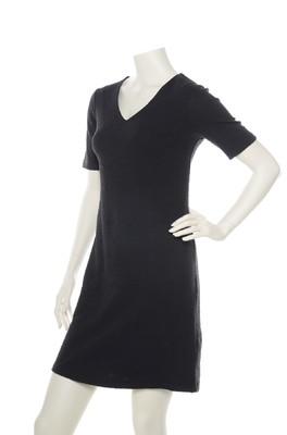 Wow To Go jurk zwart fique