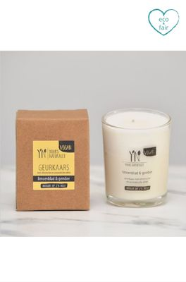 Yours naturally geurkaars votive limoenblad en gember