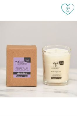 Yours naturally geurkaars votive wilde vijg en druif