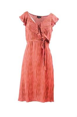 Zilch jurk cross oranje
