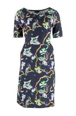 Zilch jurk dress pockets blauw