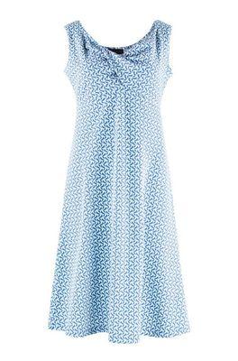 Zilch jurk dress sleeveless blauw