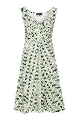 Zilch jurk sleeveless multicolor