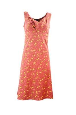 Zilch jurk sleeveless rood