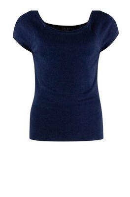 Zilch top short sleeve blauw
