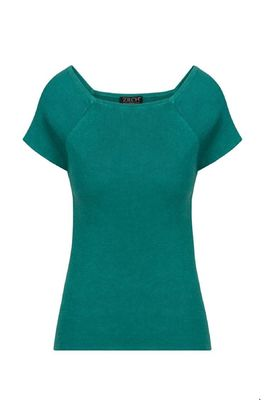 Zilch top short sleeve groen