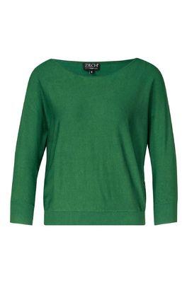 Zilch trui sweater batsleeve groen