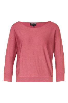 Zilch trui sweater batsleeve roze