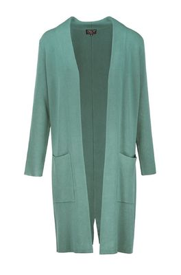 Zilch vest cardigan long blauw