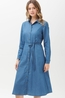 Sugarhill jurk britney shirt dress blauw