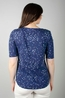 Lily & Me t shirt rockpool top appleblossom navy