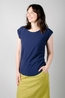Lily & Me t shirt surf side tee navy