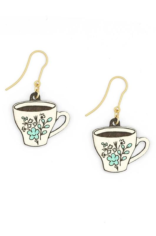 Materia Rica oorbellen teacup