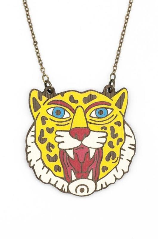 Materia Rica ketting wild leopard