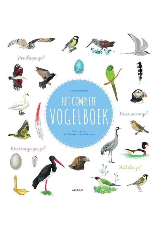 boek Complete vogelboek Tjordmann