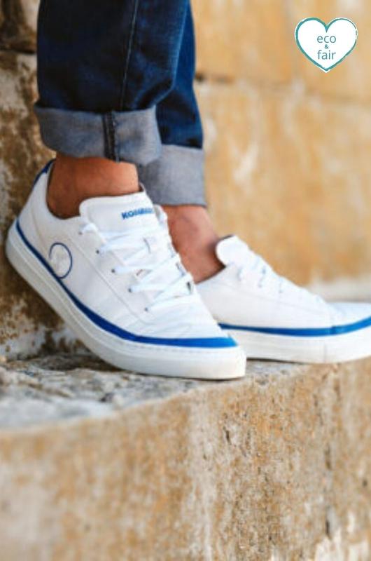 Komrads sneaker BLUE-LOW