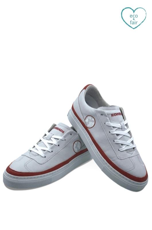Komrads sneaker RED-LOW