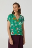 Nice Things top v neck multicolor