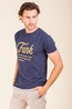 4funky flavours t shirt can't be still blauw