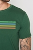 Greenbomb t shirt  bike cyclist guide groen
