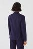 Nice Things colbert jacket striped blauw