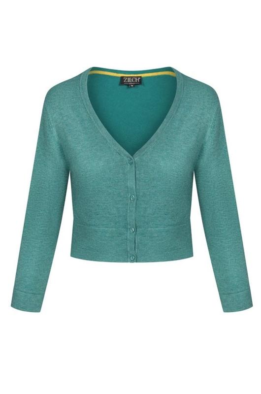 Zilch vest short groen