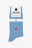 A-dam sokken dave blauw