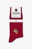 A-dam sokken drogo rood