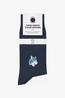 A-dam sokken timme blauw