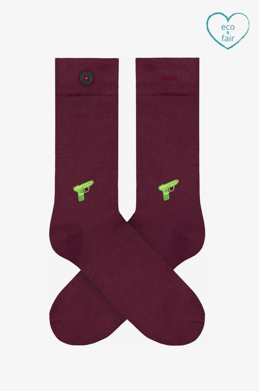 A-dam sokken appie bordeaux