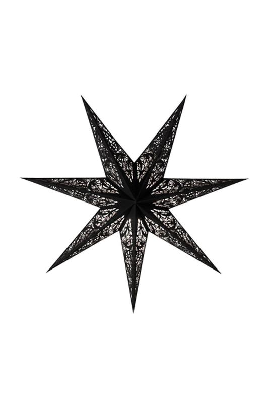 Starlightz kerstster Zwart