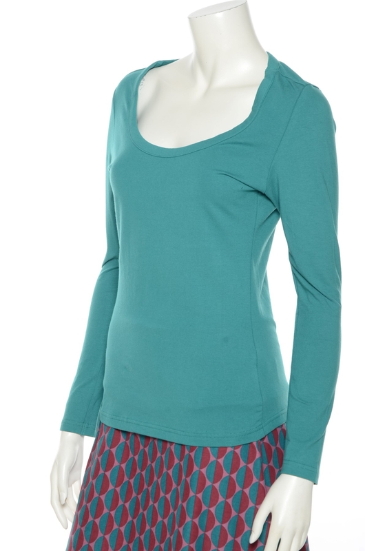 Bakery Ladies shirt longsleeve groen