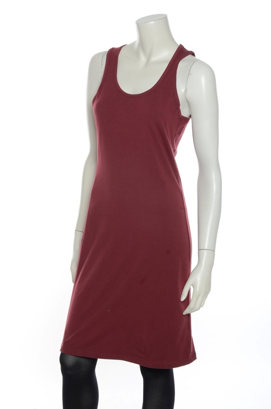Bakery Ladies jurk singlet bordeaux