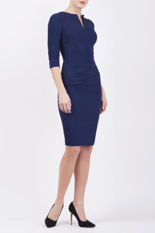 Diva Catwalk jurk 4795 blauw