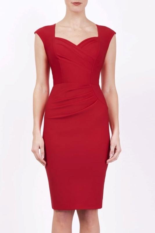 Diva Catwalk jurk 417101 rood